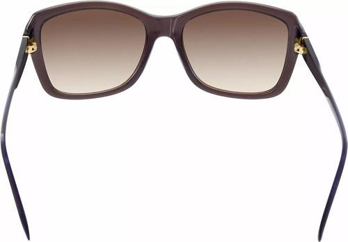 lentes guess dama original gu7360 brn-34 café+azul marino