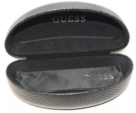 lentes guess tipo aviador silver original gu6812 si-48f