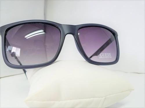 lentes guess tipo wayfarer ray ban originales azules nuevos