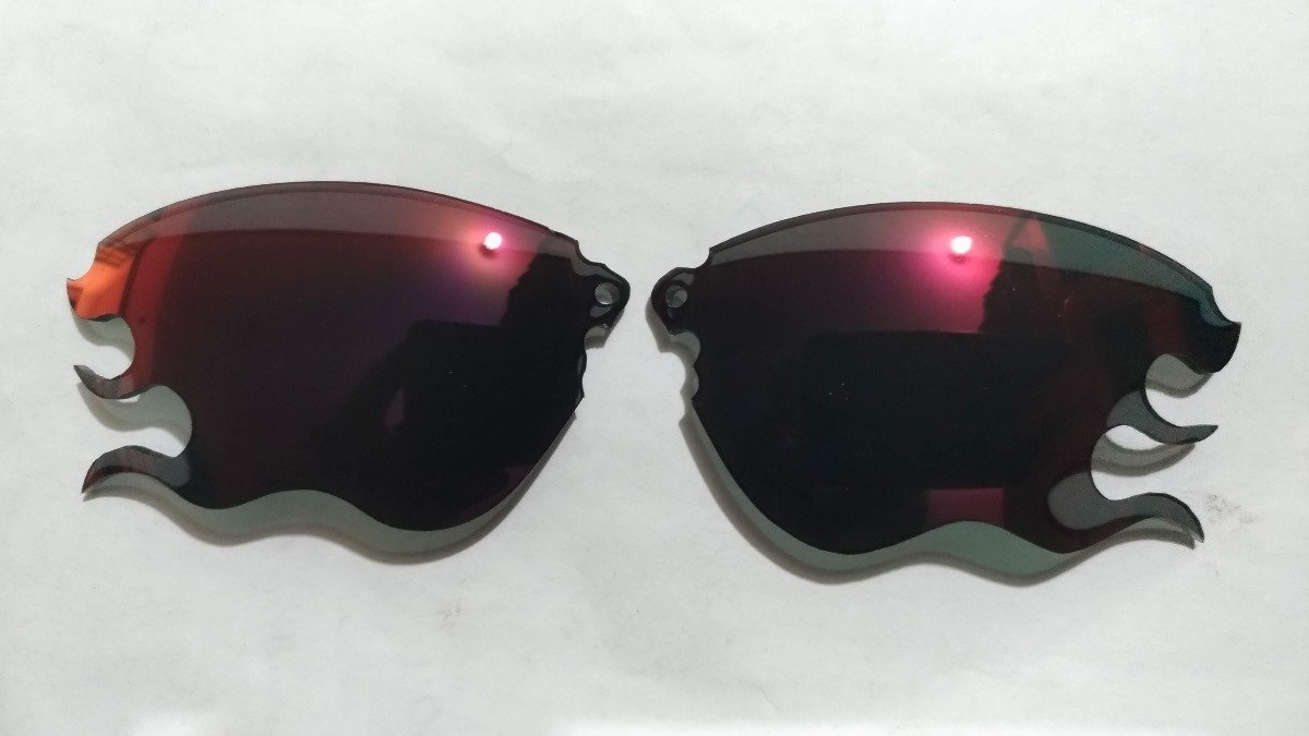 159ff96481 Lentes Hotlentes P  Oakley Thump 1   Pro Corte Flame - R  159
