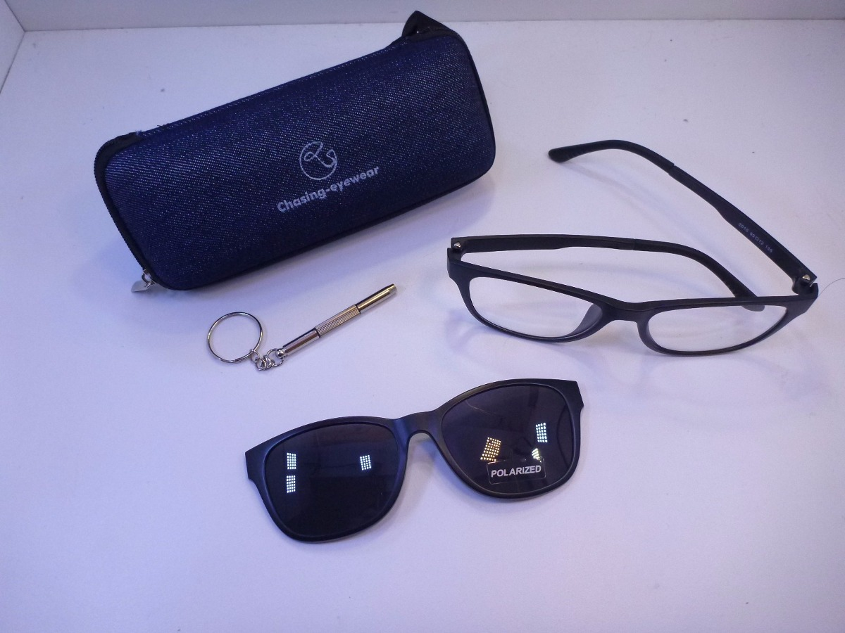 Lentes Imán Gafas De Sol Montura De Gafas Polarizadas Uv400 ...