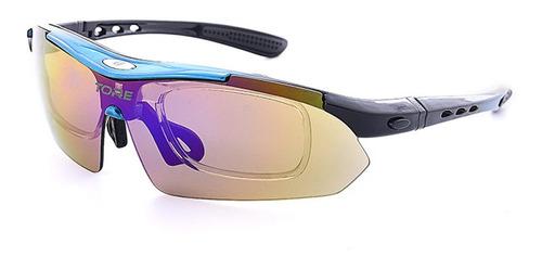 lentes intercambiable polarizado gafas uv400 stock