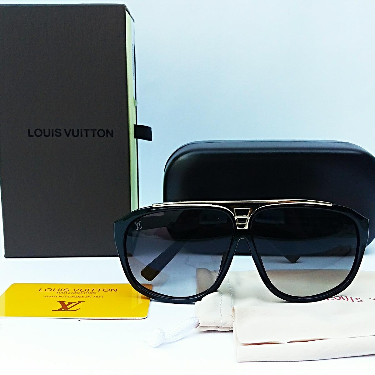 b91ca4e7a Lentes Louis Vuitton Lv Negros - $ 849.00 en Mercado Libre