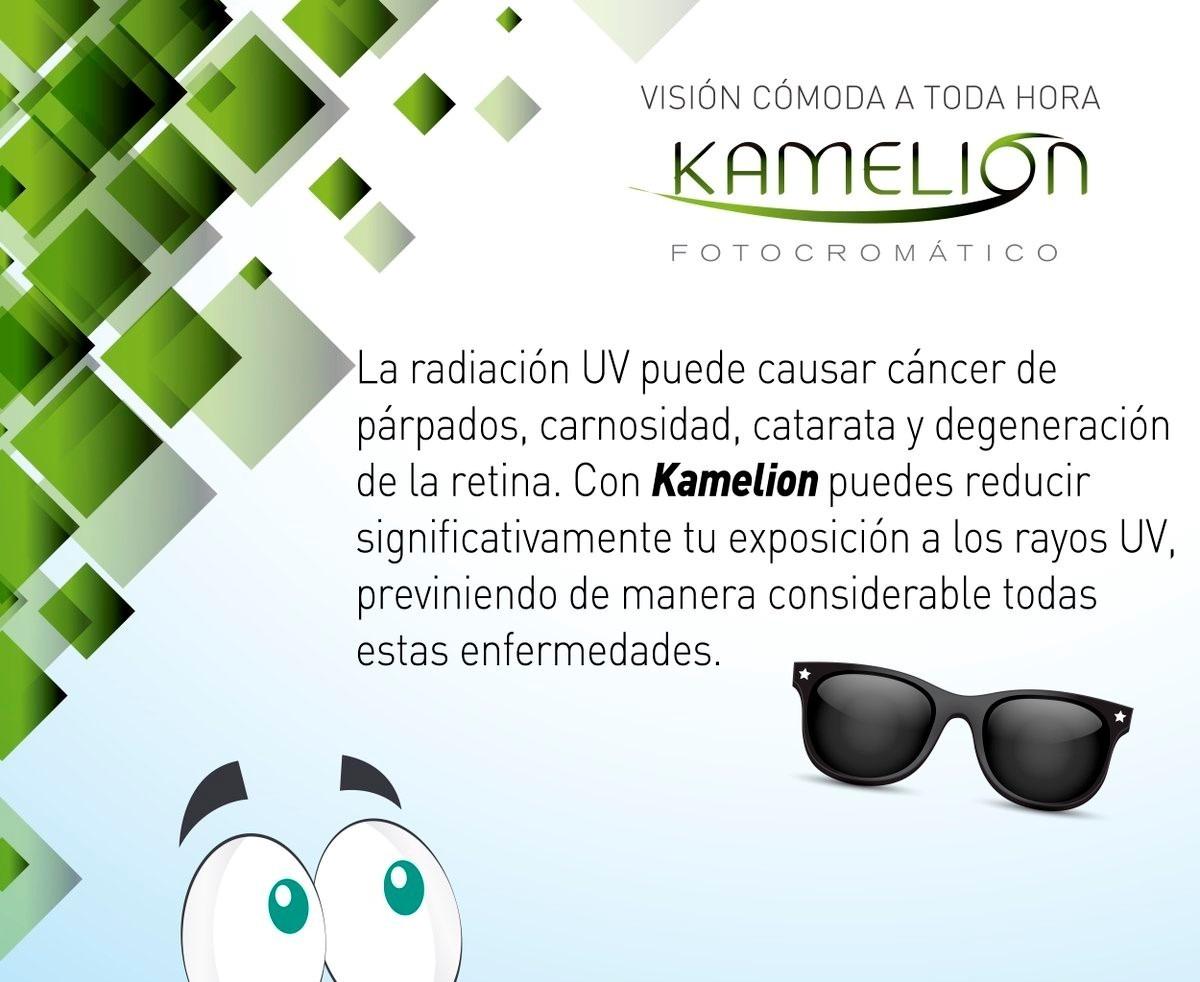 3cdf69fe4d Lentes (lunas Con Medida) Kamelion - Foto-cromáticos Uv100% - S/ 170 ...