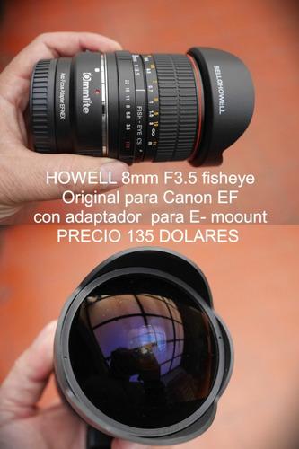 lentes manuales para sony a7 a6000 nex e-mount + adaptador