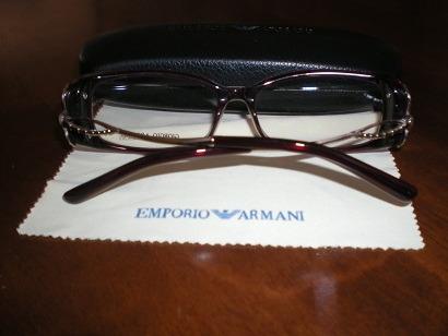 lentes marcos opticos armani