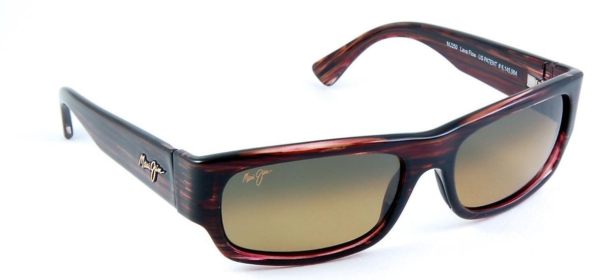 comprar online f8cc3 57841 Lentes Maui Jim Lavaflow 250-10b Polarizados Estuche Nuevos