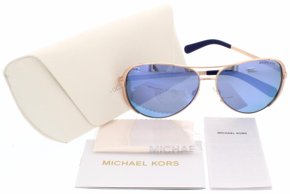 Michael Kors Dorado Y Azul