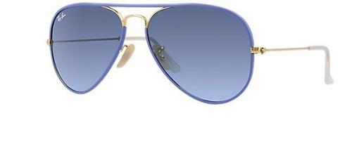 lentes modelo aviator full color ray-ban 3025jm 58/14 mm