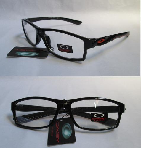 lentes monturas oakley para cristales correctivos