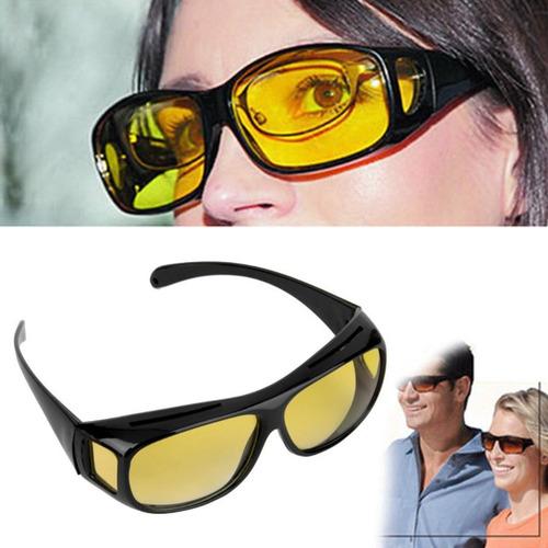 lentes nocturnos p/ manejar noche manejo amarillos ambar