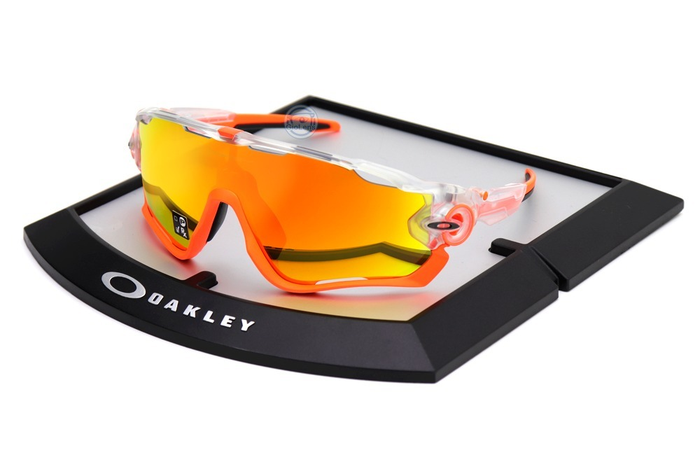 0be2351c0e lentes oakley 9290 37 jaw breaker crystal pop fire iridium. Cargando zoom.