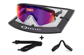 c7a05ad8edd8b Lentes Oakley 9418 17 Windjacket 2.0 Black Fade Prizm Road