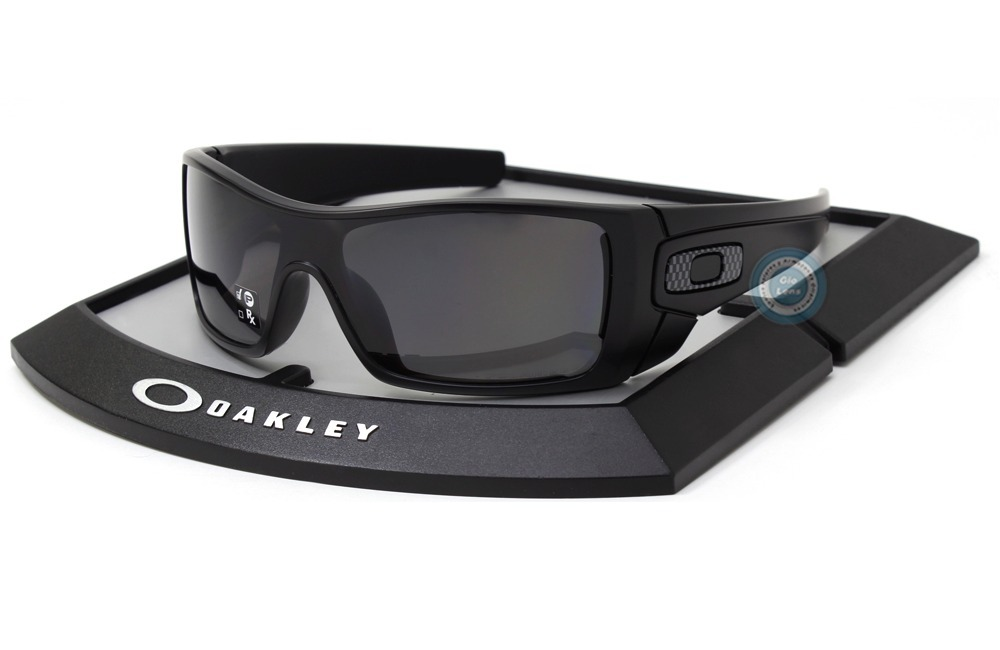 lentes oakley batwolf 9101 04 matte black grey polarized msi. Cargando zoom. 5290a11ed6