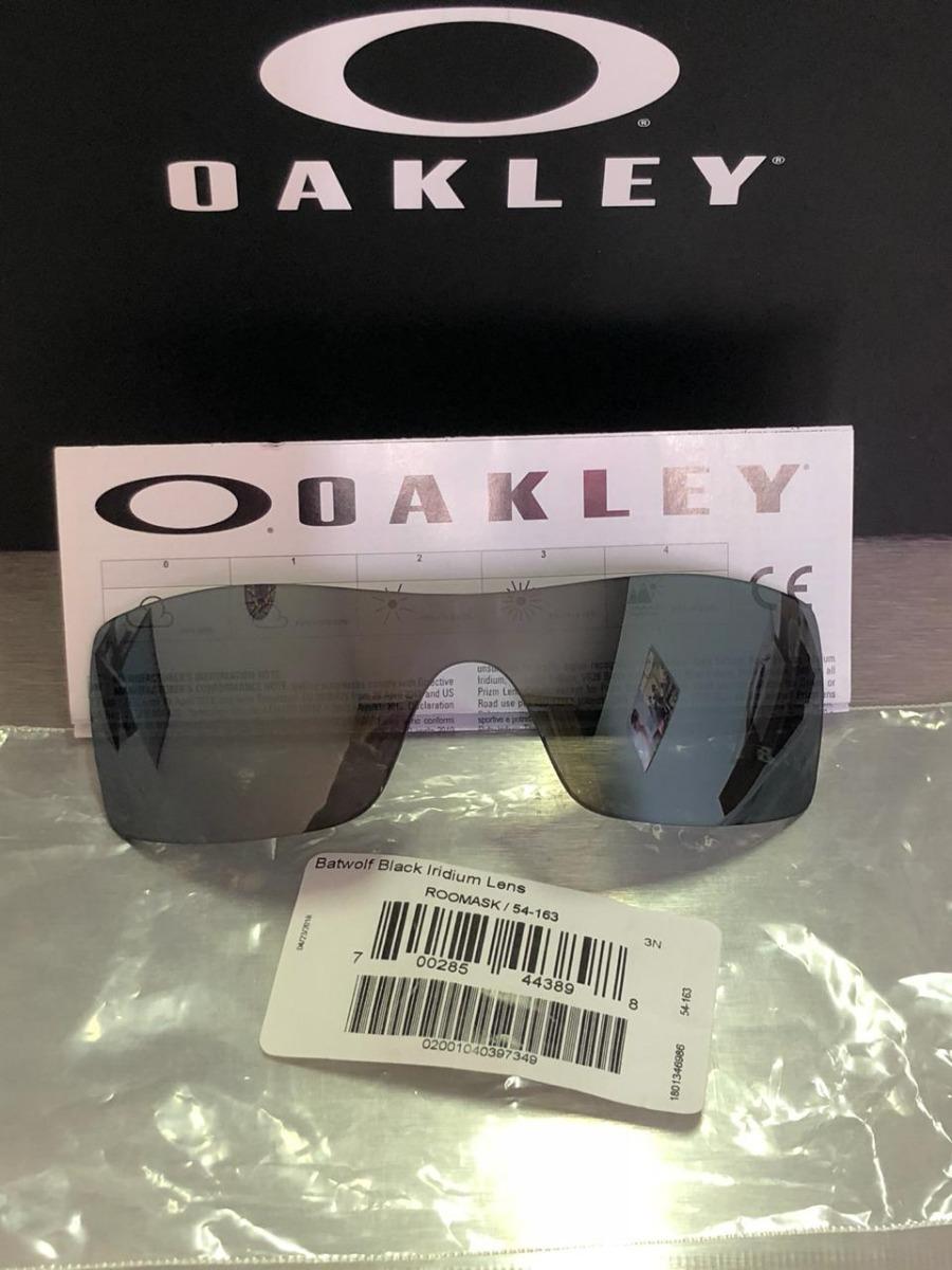 6c04cb6ad7 Lentes Oakley Batwolf Oo9101 Black Iridium - Garantia + Nf - R$ 231 ...