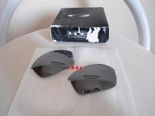 lentes oakley black originais p/ eye jacket xx 24k romeo