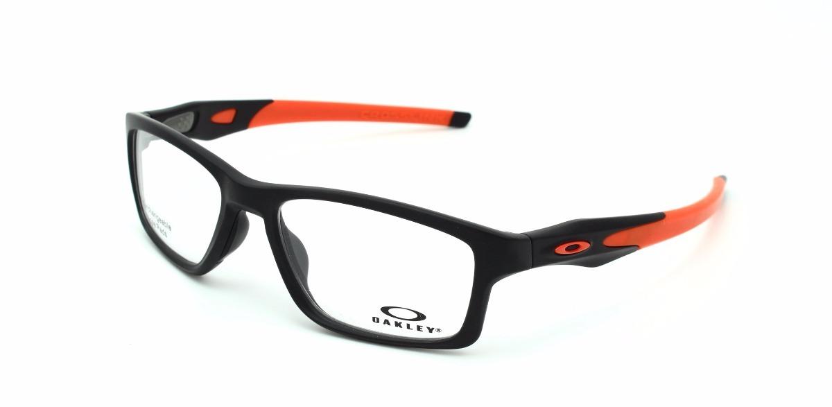 lentes oakley crosslink mnp 8090 01 satin black original. Cargando zoom. f884b0bb425
