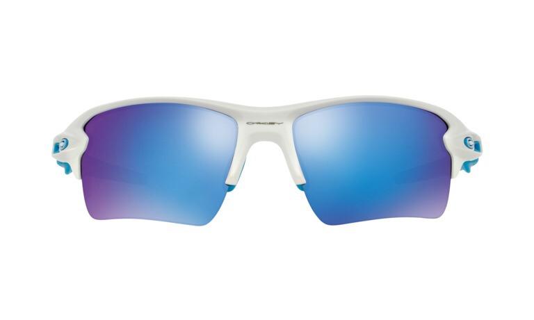 Lentes Oakley Flak 2.0xl Blanco Azul Matte Sapphire Iridium ... 36e33948e5