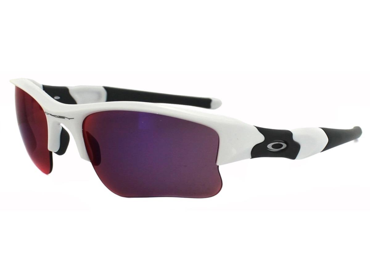 67e800d27d Lentes Oakley Flak Jacket Prizm Road Blancos - $ 2,638.00 en Mercado ...