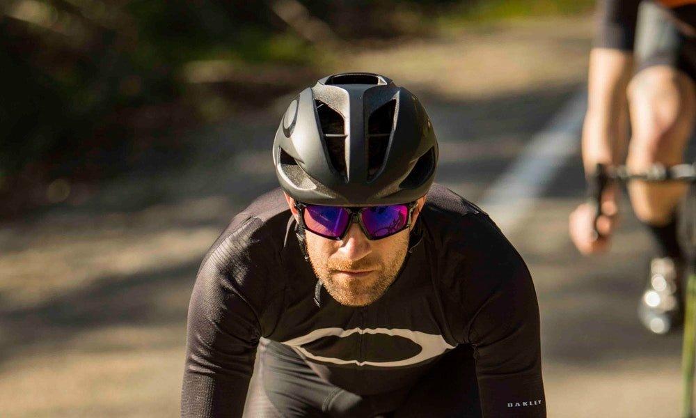 Lentes Oakley Flight Jacket Prizm Road Ciclismo Correr
