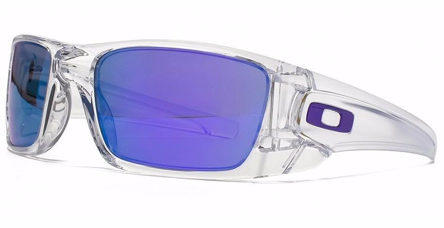 8d74b5098ec5c ... usa lentes oakley fuel cell polished clear violet iridium nuevos. cargando  zoom. 0998f da283