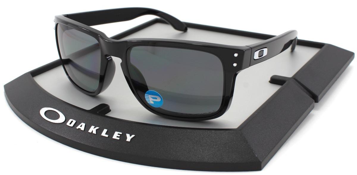 c74b6c1fe00 lentes oakley holbrook 9102 02 polished black polarizado msi. Cargando zoom.