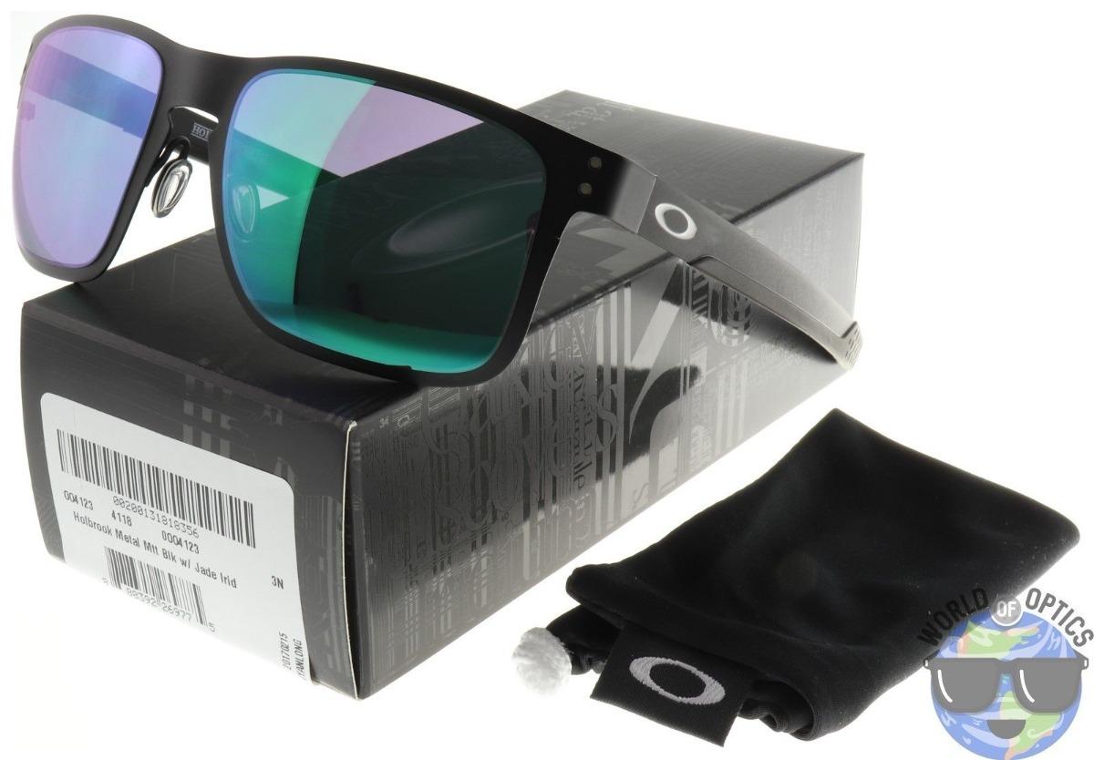 6db656a05a Lentes Oakley Holbrook Metal Matte Black Jade Iridium -   109.990 en ...