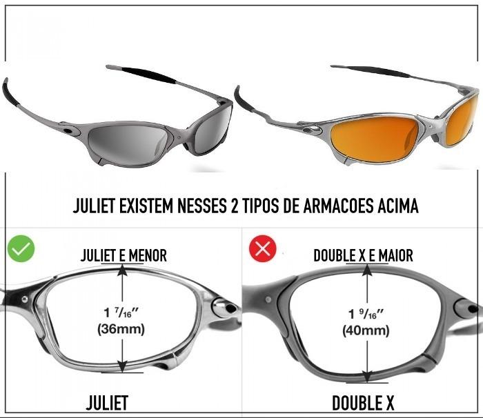 7900987872 Lentes Oakley Juliet Borrachinhas Kit Completo Super Brinde - R$ 139 ...