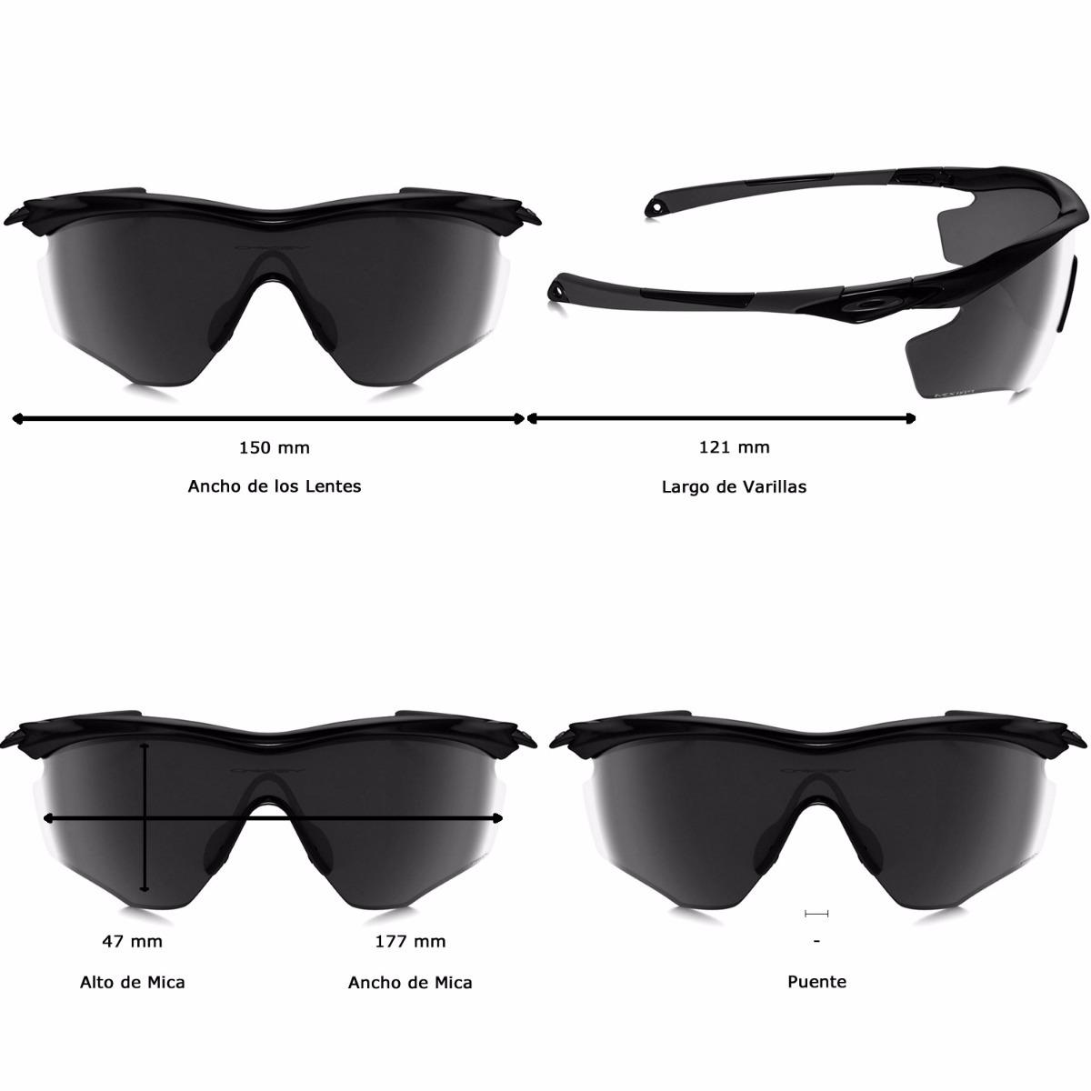 2f36e3344e lentes oakley m2 frame xl polished black - grey oo9343-01. Cargando zoom.