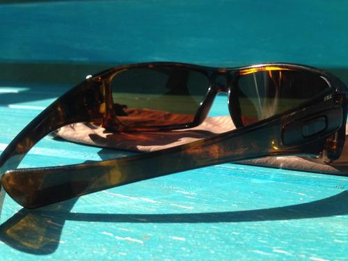 lentes oakley originales. antix, color negro. iridium