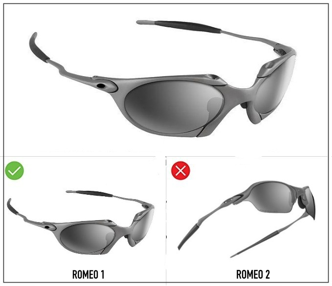 8cb2c08298 Lentes Oakley Romeo 1 Kit De Borrachas Chave E Frete Brinde - R$ 149 ...