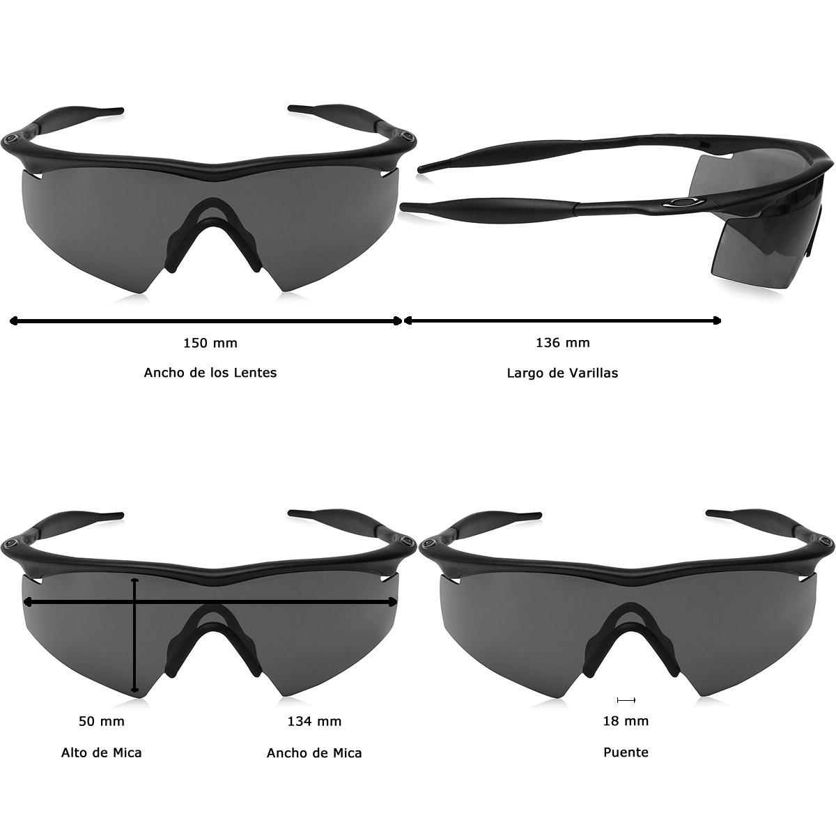Lentes Oakley S I Ballistic M Frame Strike Matt Black / Grey ...
