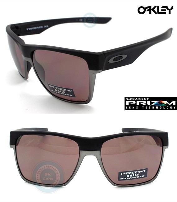 89dbe601e7 Lentes Oakley Twoface Xl 9350 02 Black Prizm Daily Polarized ...