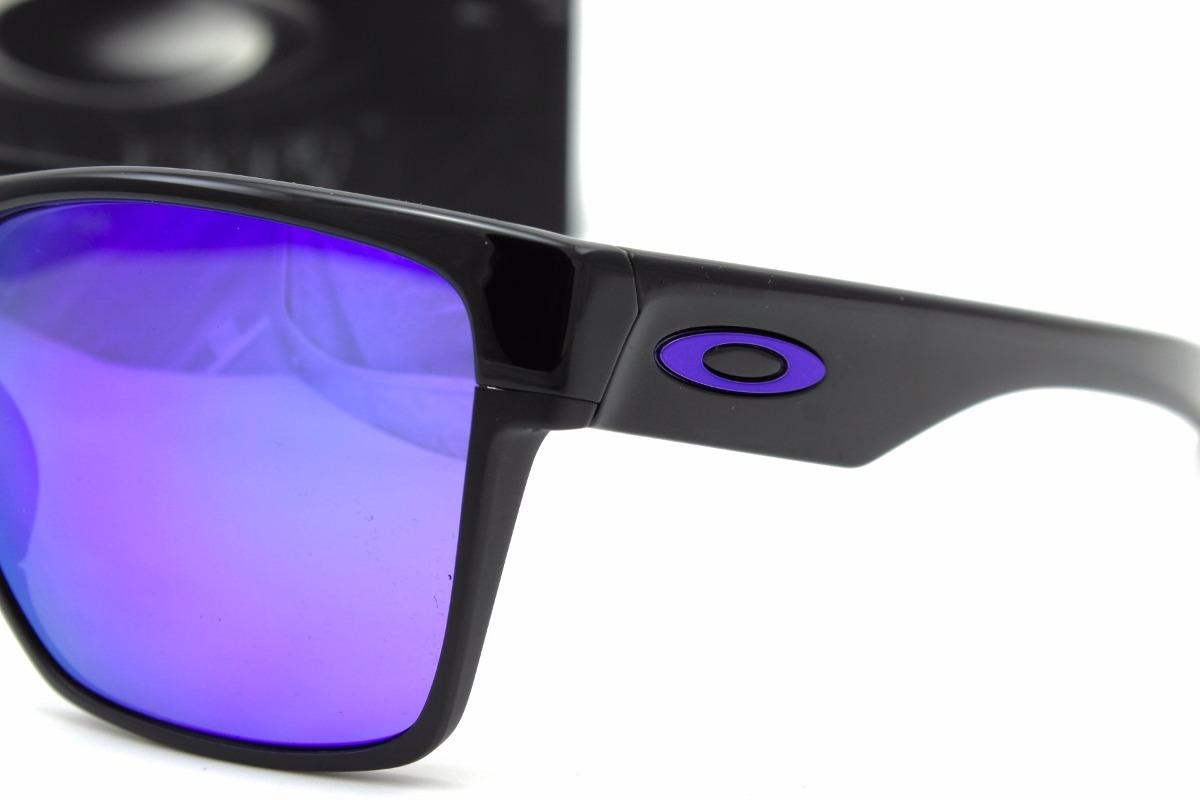 b684444414d8a lentes oakley twoface xl 9350 04 polish black violet iridium. Cargando zoom.