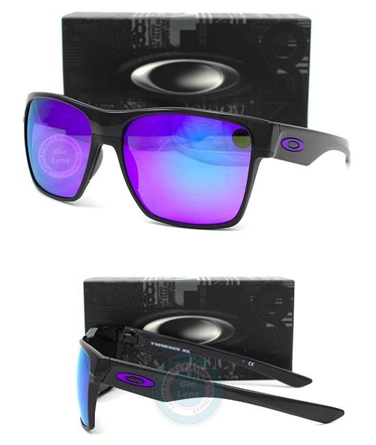 2d3d26a0c20 Lentes Oakley Twoface Xl 9350 04 Polish Black Violet Iridium ...