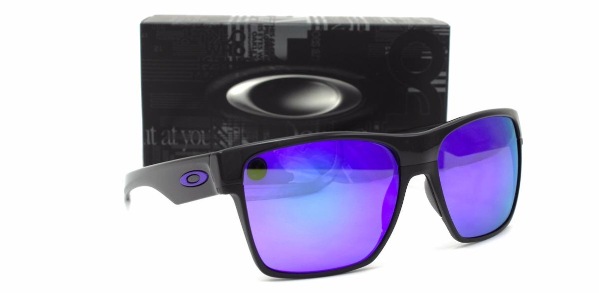 59c3c882ca lentes oakley twoface xl 9350 04 polish black violet iridium. Cargando zoom.