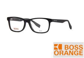 7619548ece Lentes Oftalmicos Armazon Hugo Boss Orange Bo 0319 807 Black