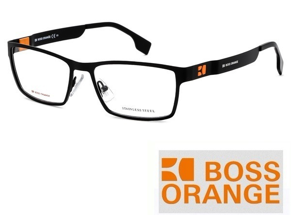 revisa afcf0 bf13c Lentes Oftalmicos Hugo Boss Orange Bo 0001 R80