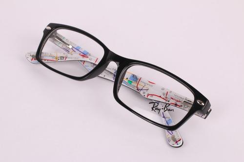 lentes oftalmicos ray ban o armazon  caja estuche y paño