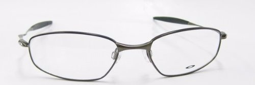 lentes oftalmicos rx whisker 6b (55) pewter oakley