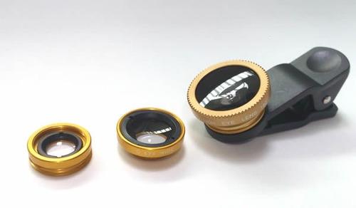 lentes ojo de pez para celular