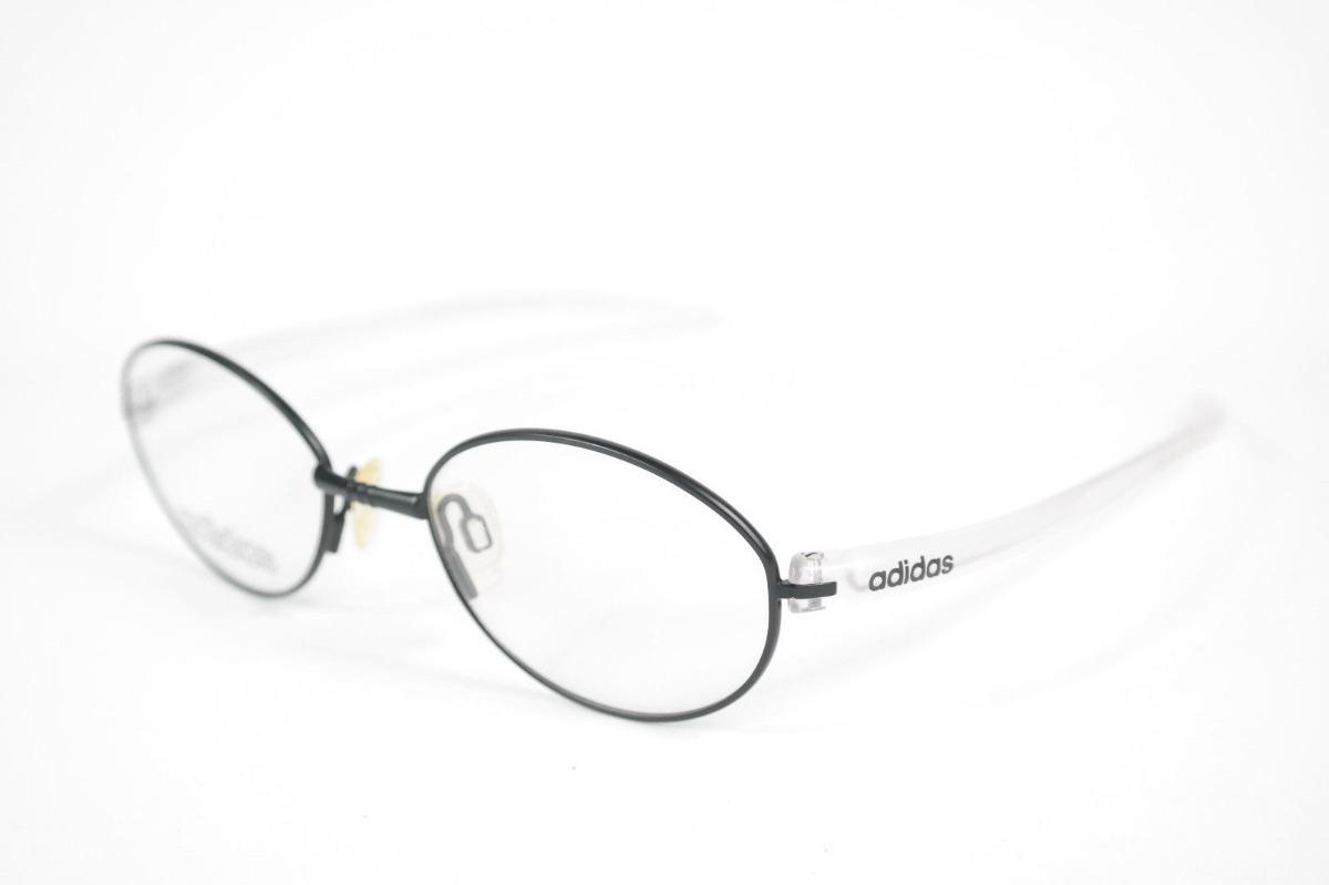 9c50ac392d lentes ópticos adidas a709-50 black transparent original 48 ...