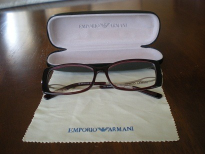 lentes opticos armani