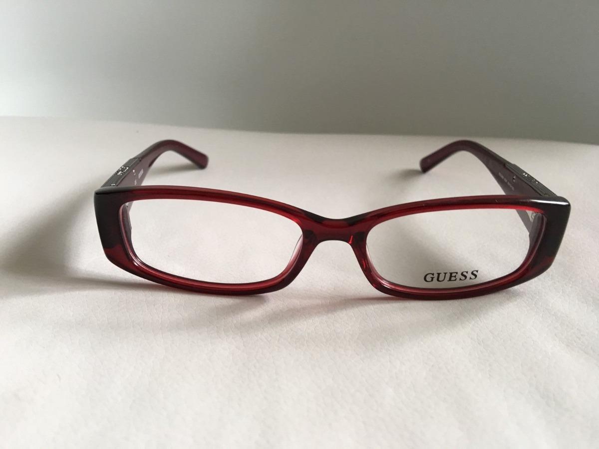 19e4fa574e lentes ópticos guess gu2385 transparent red purple original. Cargando zoom.