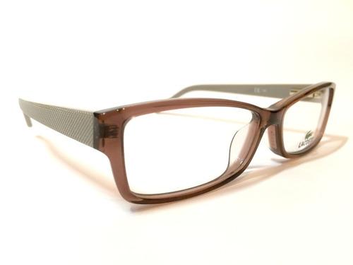 lentes opticos lacoste $79.990. ref$149.990.-nuevos
