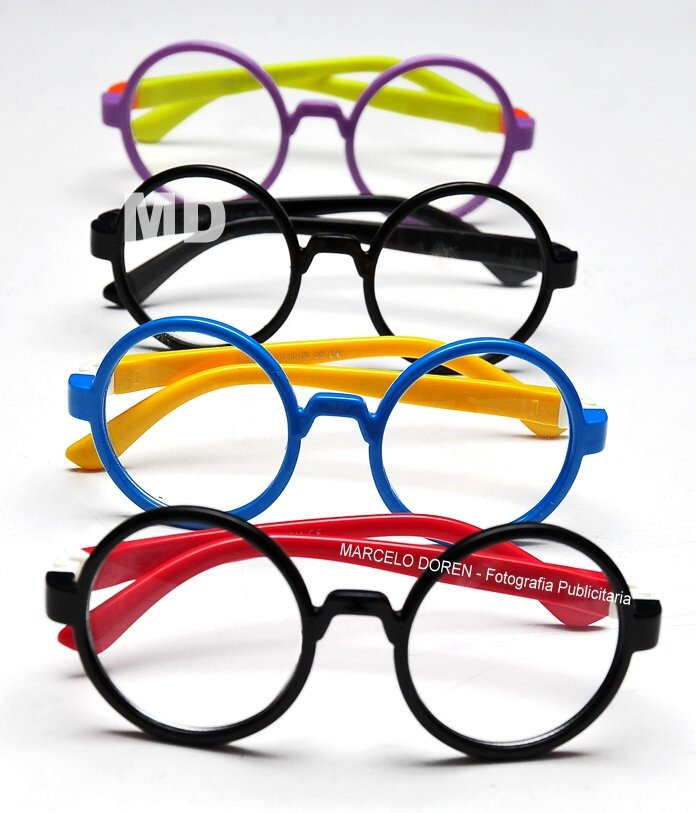 Lentes Opticos Para Niños - Marco Flex Hipster Harry Potter ...