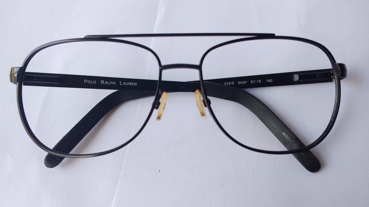4d928c903d lentes ópticos polo ralph lauren 928s aviator black original. Cargando zoom.