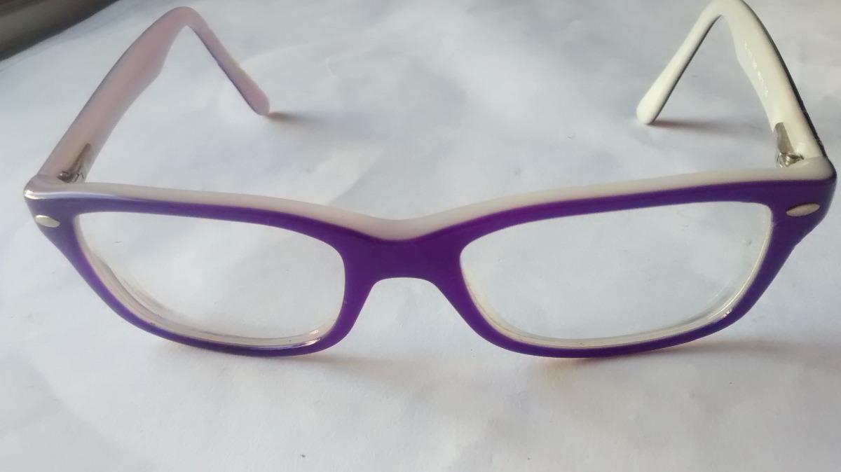 lentes ray ban mujer blancos