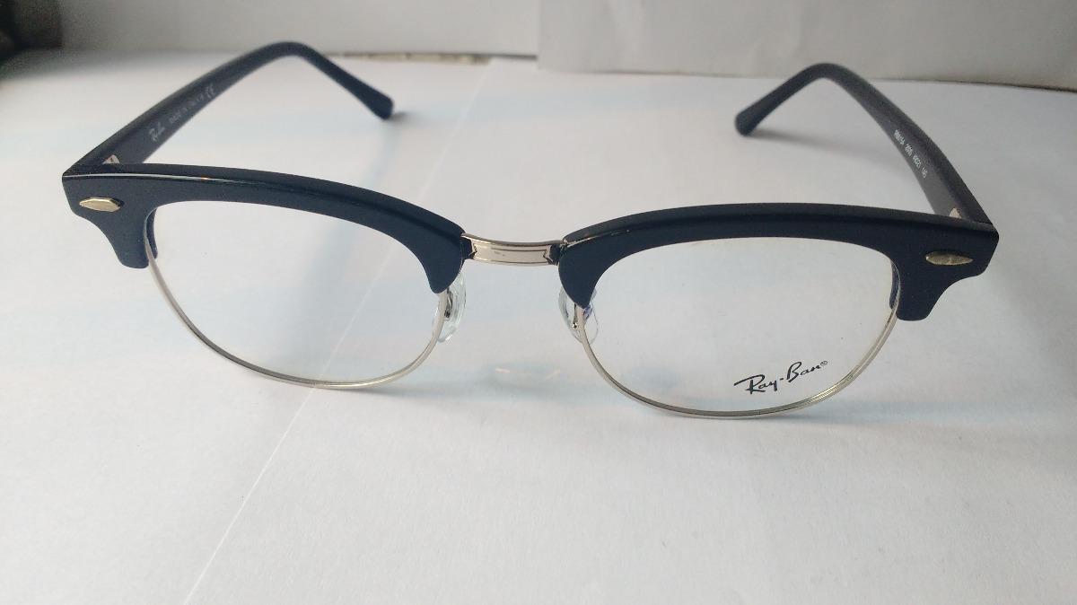 Lentes Ópticos Ray Ban Rb5154 Clubmaster 2000 Black M 49mm ...