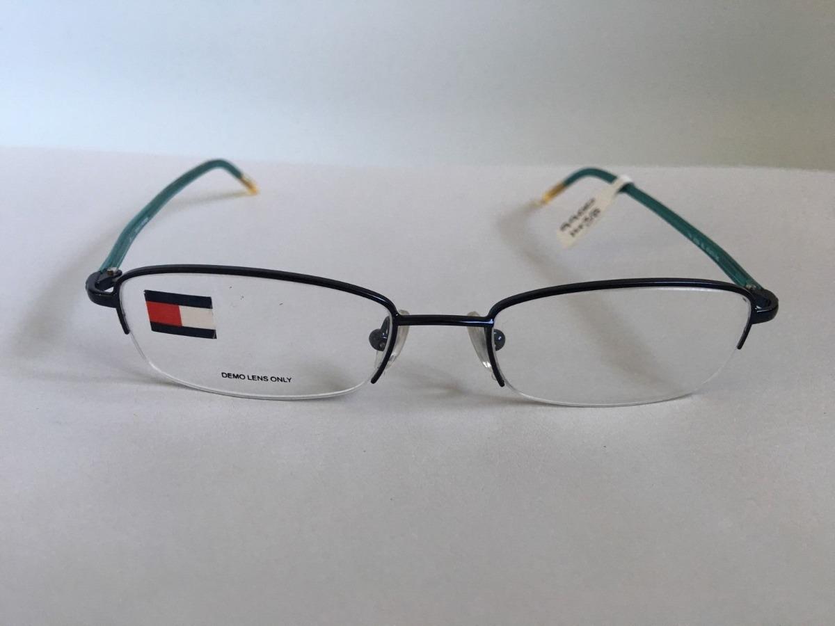 bfda50ae79 lentes ópticos tommy hilfiger th3029 semi al aire blue 47mm. Cargando zoom.